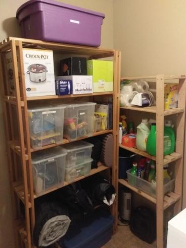 closet storage after image