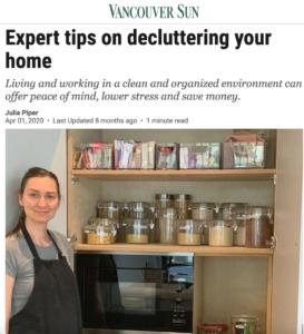 home-organizing