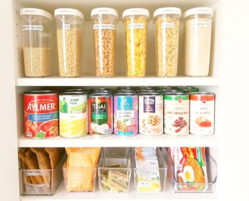 closet and pantry organizing services - after