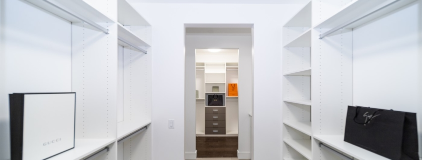harmony home organizing closet staging